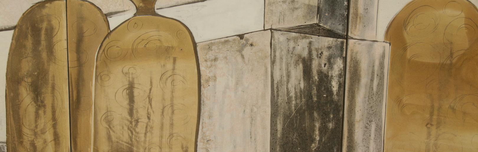 Mural cerámico